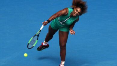 Photo of Serena Williams begins Australian Open campaign with a bang