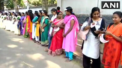 Photo of Kerala: 620-km-long 'Women's Wall' for gender equality