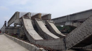 Photo of NHAI officials, contractor booked over damaged flyover