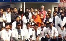 Aligarh Muslim University doctors treated devotees at Kumbh Mela