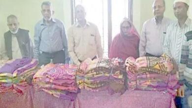 Photo of Faiz-e-Aam Trust distributes blankets to the needy