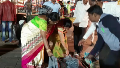 Photo of Blankets distributed to the homeless by GHMC