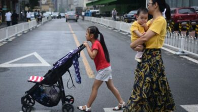 Photo of China's population shrinks despite two-child policy: experts