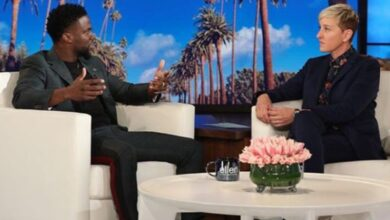 Photo of Ellen DeGeneres show teaser sees Kevin Hart clearing air over Oscar controversy