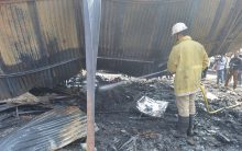 Exhibition fire: Stalls reduced to Ashes
