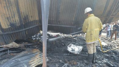 Photo of Exhibition fire: Stalls reduced to Ashes