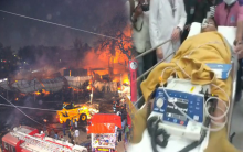 Update details of Exhibition fire, almost 150 stalls catch fire