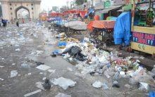 Businessmen throwing garbage face punishment