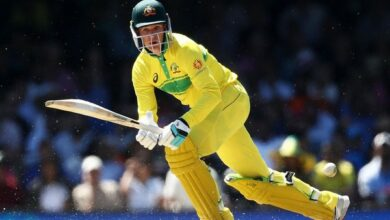 Photo of Sydney ODI: Handscomb, Stoinis help Australia post 288/5