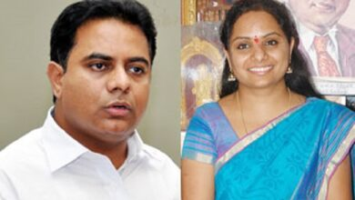 Photo of KTR, others greet MP Kavitha on birthday