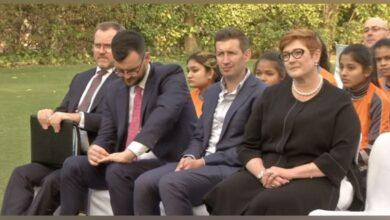 Photo of Australian Foreign Minister attends friendly football match for women empowerment