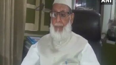 Photo of Treasurer Jamiat Ulama-i-Hind Maulana Haseeb passes away