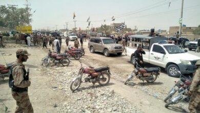 Photo of IED blast in Peshawar, 6 injured