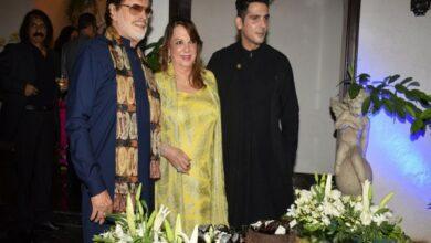 Photo of Sanjay Khan announces second book on 78th birthday