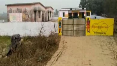 Photo of Stray cows locked in UP school: FIR against 28 people
