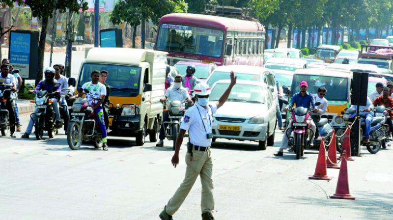 Hyderabad: GHMC Commissioner's vehicle fined for violating