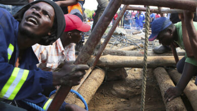 Photo of Over 60 feared dead in Zimbabwe gold mine flooding