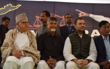 Opposition flexes muscle at Naidu's fast, attacks Modi