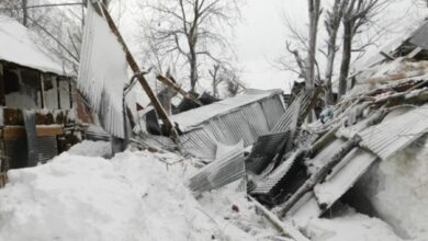Photo of Avalanche in J-K's Bandipora destroys 18 houses