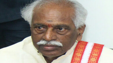 Photo of Dattatreya mocks CM  over incomplete Kaleswaram project inauguration