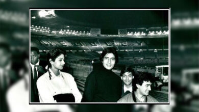 Photo of Big B shares throwback picture with Sridevi, Salman, Aamir from their first concert