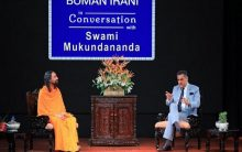 Boman Irani, Swami Mukundananda share secrets of success with youth