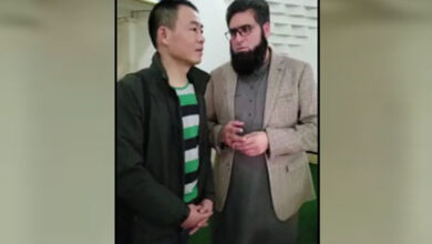 Photo of Pakistan minister helping Chinese to embrace Islam, video goes viral