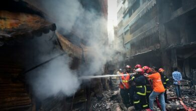 Photo of Photos: 70 killed, 40 hurt in Dhaka apartment fire