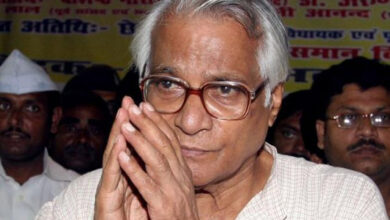Photo of George Fernandes: The man who justify slashing of women's womb in Gujarat riots