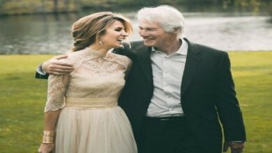 Photo of Actor Richard Gere becomes father at 69.
