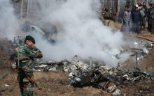 Exclusive Pictures: Military aircraft crashes in Jammu and Kashmir's Budgam
