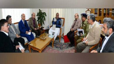 Photo of J-K Governor reviews law and order situation, appeals for peace, fraternity