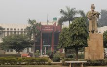 Jamia students protesting against HoD of harassment roughed up