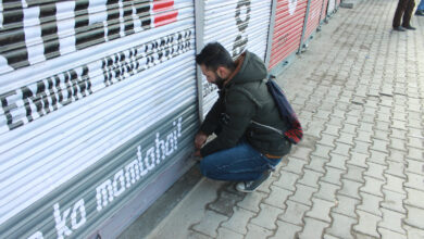 Photo of Traders-called protest shutdown affects life in Kashmir Valley