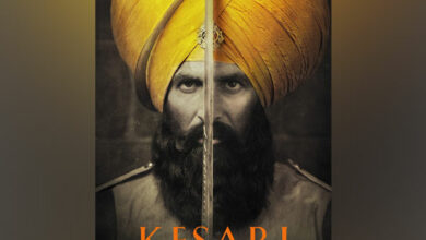 Photo of Akshay Kumar shares first glimpses of 'Kesari'