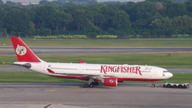 Photo of Defunct Kingfisher Airline promoters prevented shares worth over Rs 7,500 crore for use in settling bank claims