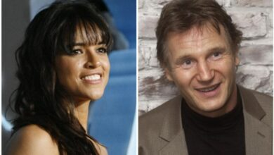 Photo of Michelle Rodriguez defends Liam Neeson
