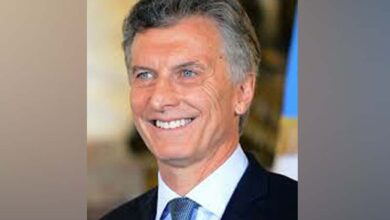Photo of Argentine President on India visit from February 17