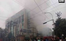Fire at Noida hospital, no casualties yet