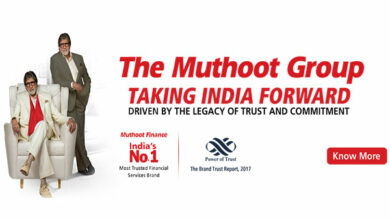 Photo of Muthoot Group's AUMs jump 19 pc to Rs 36,497 crore