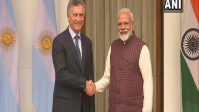 Photo of PM Modi, Argentina President hold bilateral talks at Hyderabad House