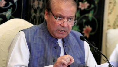 Photo of Nawaz Sharif suffering from kidney stone