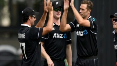 Photo of New Zealand back in top three on ODI rankings table