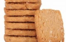 Recipe: Oats and Almond Biscuits
