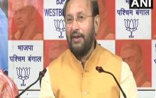 Javadekar hits out at opposition for raising questions on EVMs