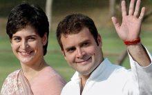 Priyanka, Rahul halt at UP 'dhaba'