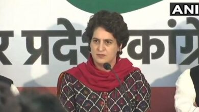 Photo of Priyanka Gandhi laughing after terror attack? Cropped video used to paint a false narrative