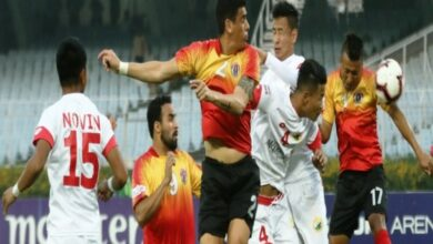 Photo of I-League: East Bengal ride on Ralte's hattrick to blitz five past Lajong
