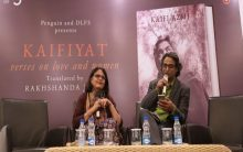 DLF5 hosts a book discussion to remember Kaifi Azmi