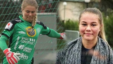 Photo of Sweden team goalie embraced Islam, faces threats